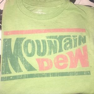 mountain dew shirt